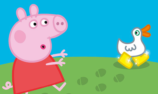 Peppa Pig: As Botas de Ouro e Outras Histórias