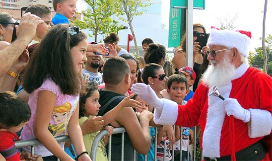 Papai Noel Pátio Cianê