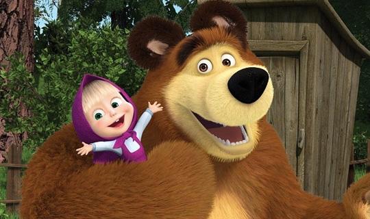 filme Masha e o Urso