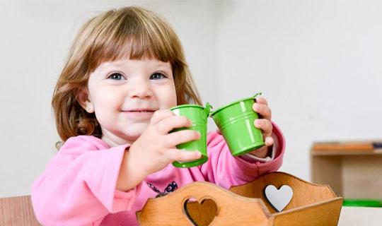 Atividade Sensorial Montessori