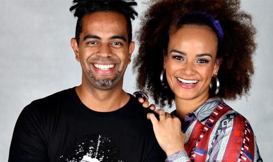 Luciana Mello e Jair Oliveira