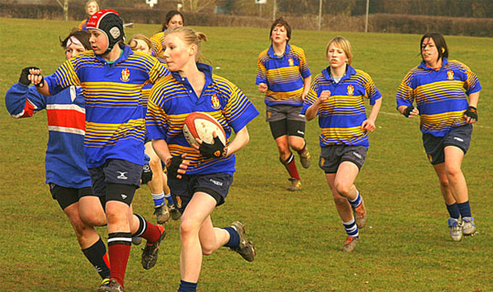 Time de Rugby Feminino Lechuza