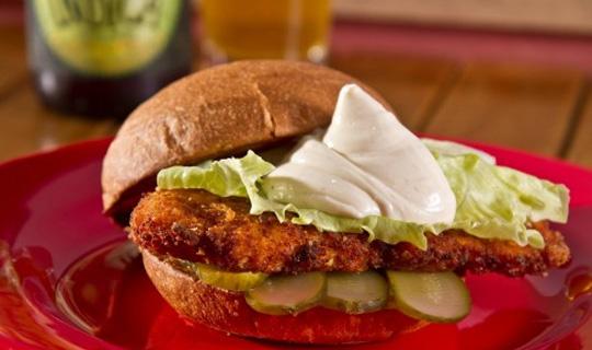 dinis burger chiken-mayo