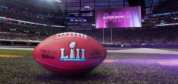 e56c7922c Exibição do Super Bowl LII. Futebol Americano no Cinema