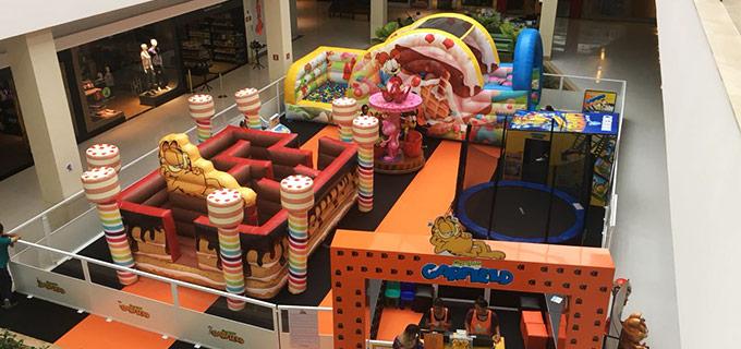 Parque do Garfield Shopping Iguatemi Esplanada