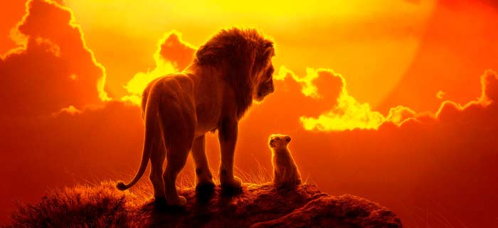 Capa do filme O Rei Leão