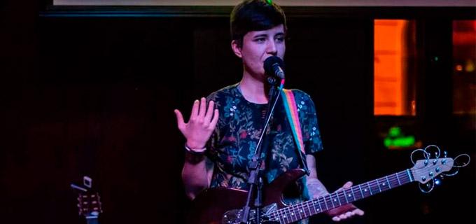 Foto da musicista Marina Dias