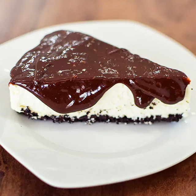 cheesecake de chocolate colombina
