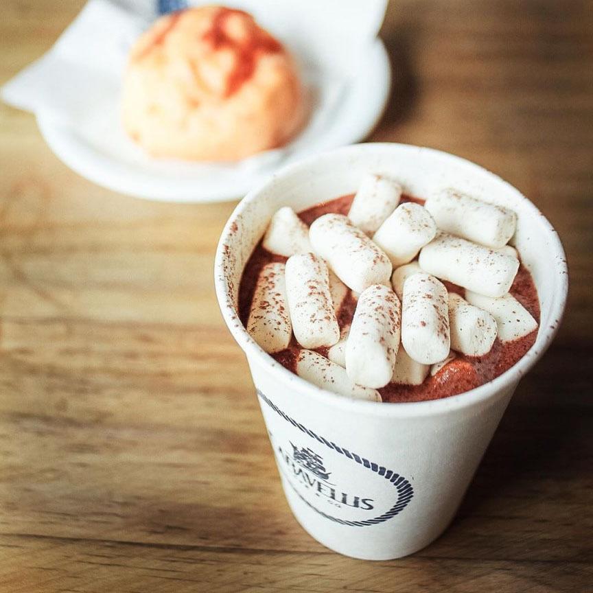 chocolate quente caravellis