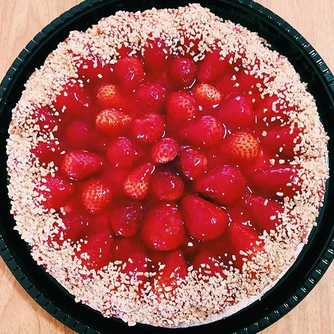 quadrupede torta de comida vegan