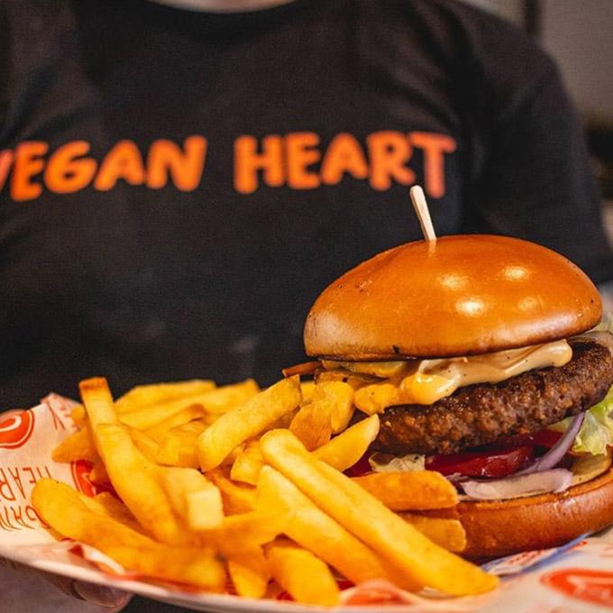 vegan heart