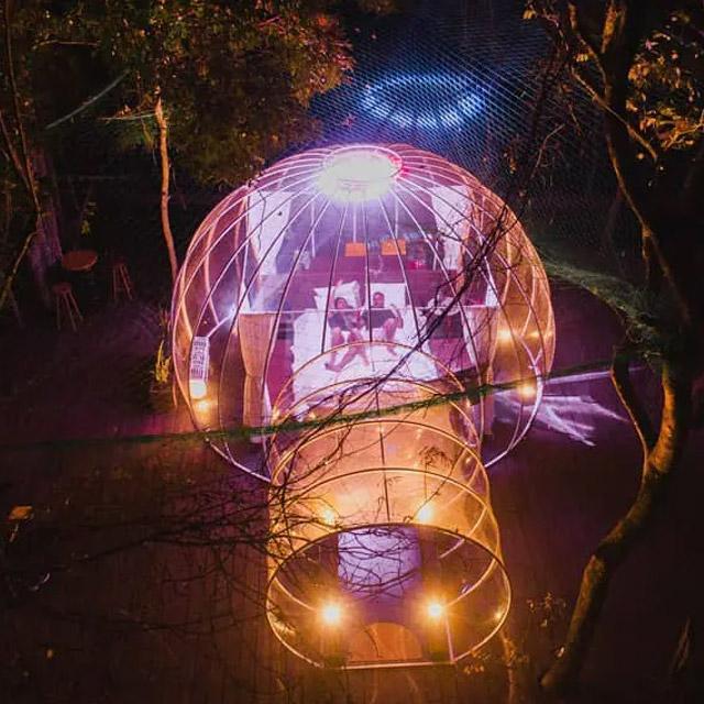 cabana bolha