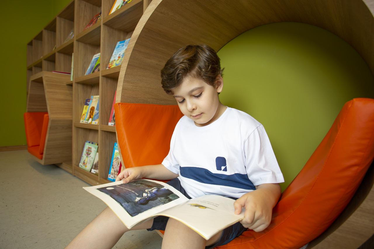 Nova nova Biblioteca Infantil Interativa da Escola Portal 3