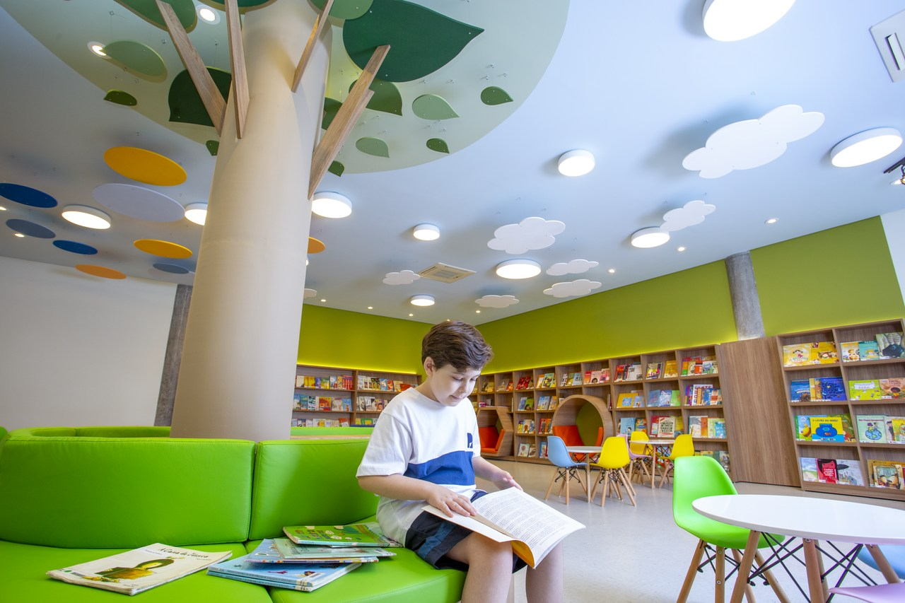 Nova nova Biblioteca Infantil Interativa da Escola Portal 4