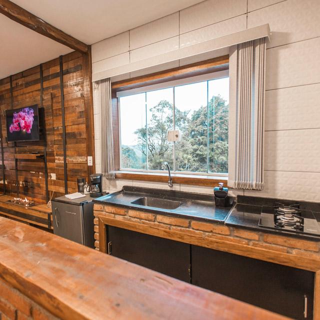 chale romantico mini cozinha