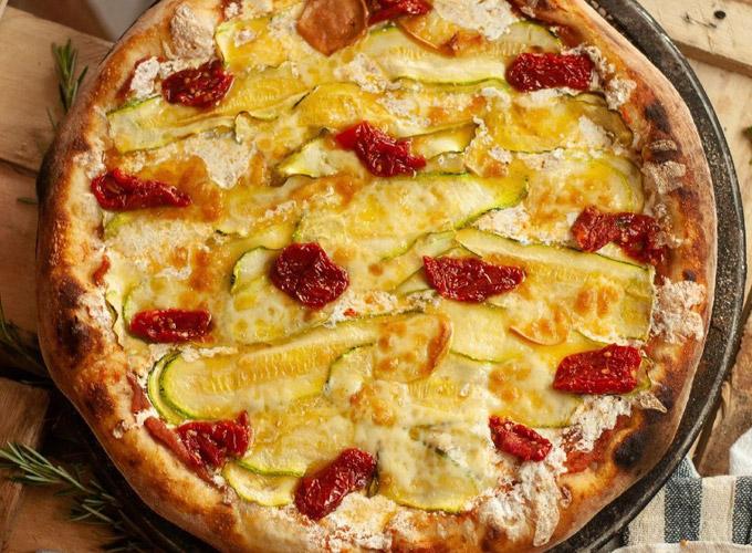 pizza provola cucina del capo