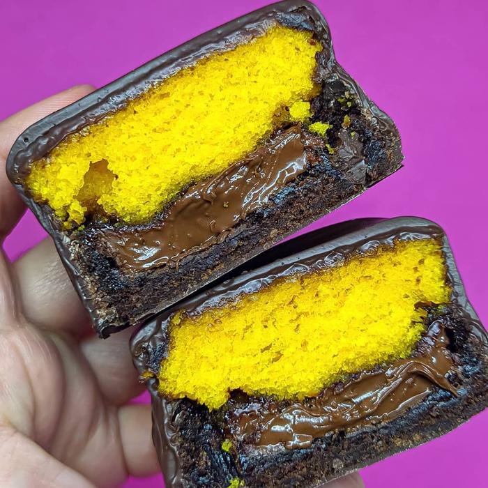sao brownie banhadinho