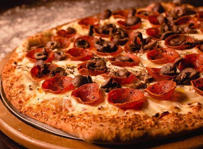 pizza pepperoni da vila pizzaria villa napolitana