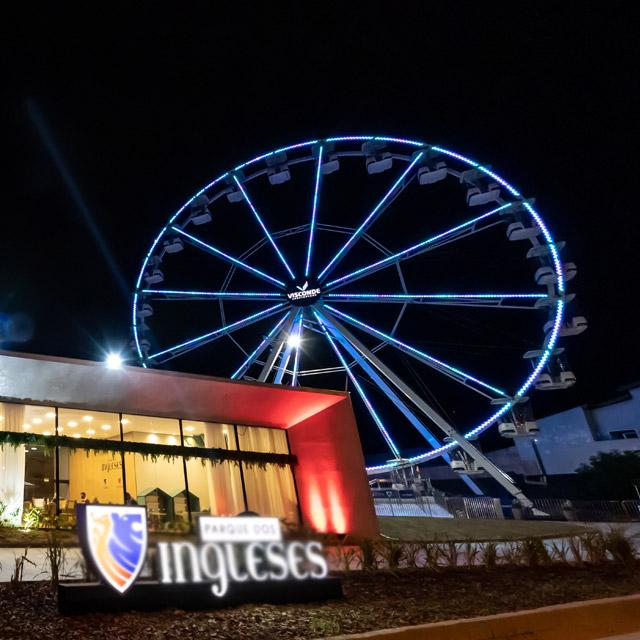 roda gigante vila dos ingleses noite