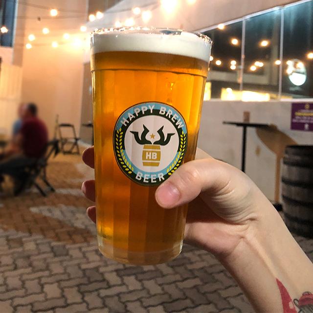 cervejaria happy brew chope