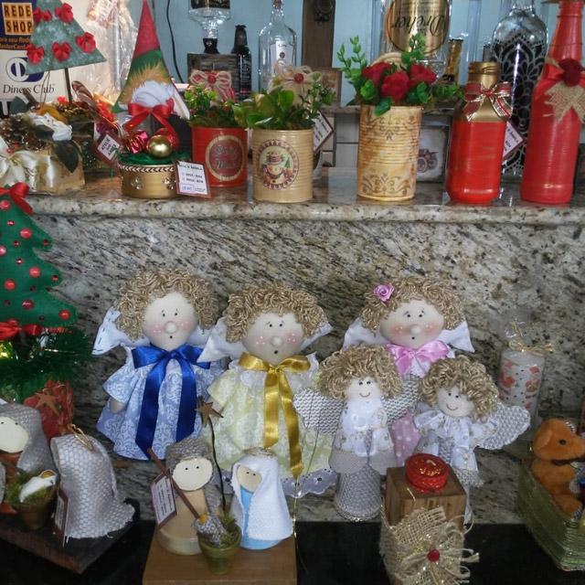 feira natalina artesas angela e rosangela