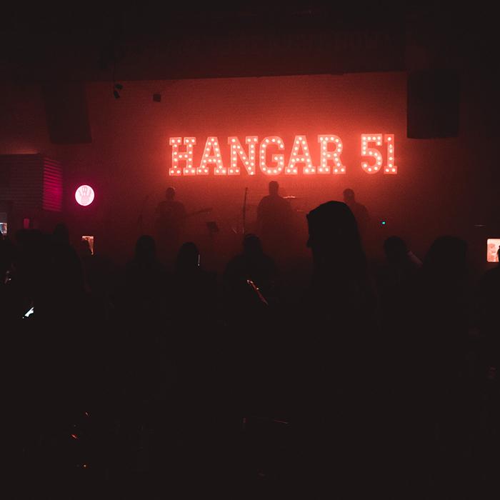 hangar 51 palco 2